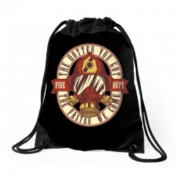 The hotter you got the faster we come Drawstring Bags | Artistshot