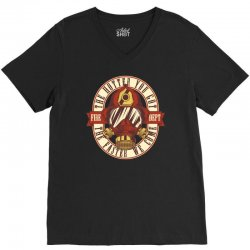 The hotter you got the faster we come V-Neck Tee | Artistshot