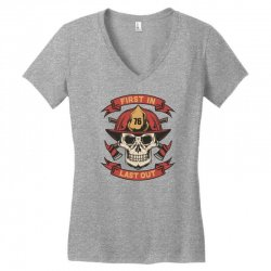 First in Last out Women's V-Neck T-Shirt | Artistshot