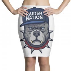 Beware of the Raider Nation Pencil Skirts | Artistshot