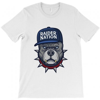 Beware Of The Raider Nation T-shirt Designed By Tiococacola