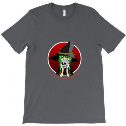 Witch Spell T-shirt Designed By Bone002