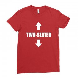 two seater Ladies Fitted T-Shirt | Artistshot