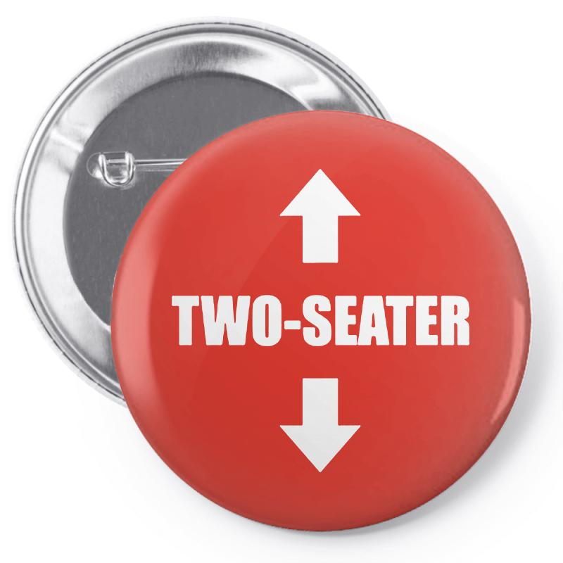 Two Seater Pin-back Button | Artistshot