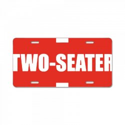 two seater License Plate | Artistshot