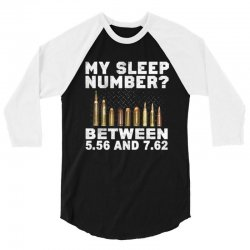 my sleep number 3/4 Sleeve Shirt | Artistshot