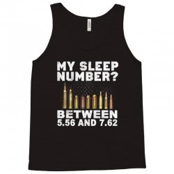 my sleep number Tank Top | Artistshot