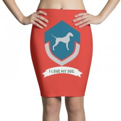 Love my dogs Pencil Skirts | Artistshot