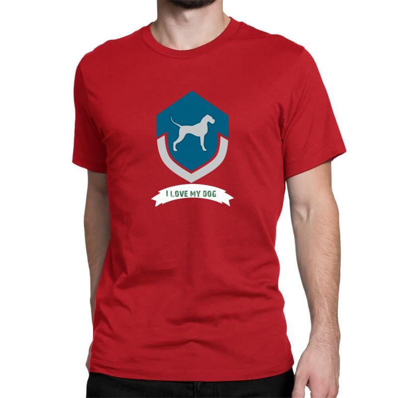Love My Dogs Classic T-shirt | Artistshot