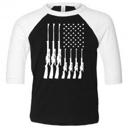 american guns can't ban these Toddler 3/4 Sleeve Tee | Artistshot