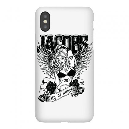 Josh Jacobs / City Of Angels Iphonex Case Designed By Tiococacola