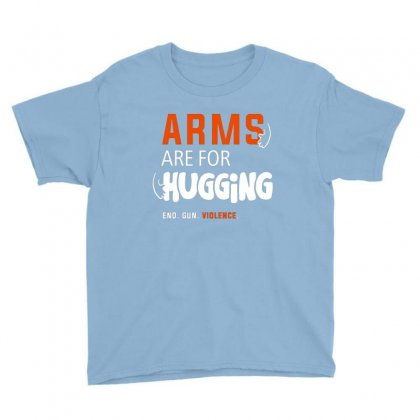 Arms For Hugging Youth Tee Designed By Disgus_thing