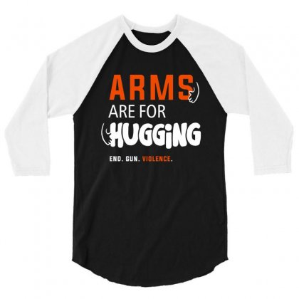 Arms For Hugging 3/4 Sleeve Shirt Designed By Disgus_thing