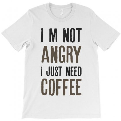 Just Need Coffee T-shirt Designed By Chris Ceconello