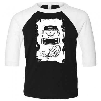 Stop Smoking Toddler 3/4 Sleeve Tee Designed By Specstore