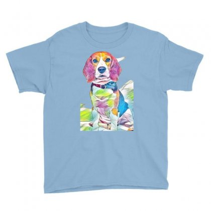 Beagle-harrier Youth Tee Designed By Kemnabi