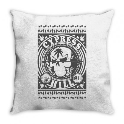 Cypress Hill Rise Up Circling Throw Pillow Designed By Ismi