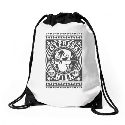 Cypress Hill Rise Up Circling Drawstring Bags Designed By Ismi