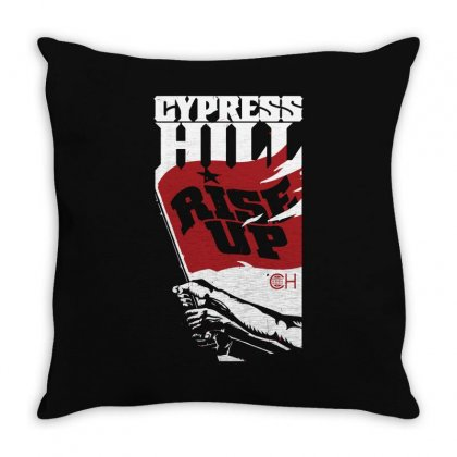 Cypress Hill Rise Up Tour 2010 Throw Pillow Designed By Ismi