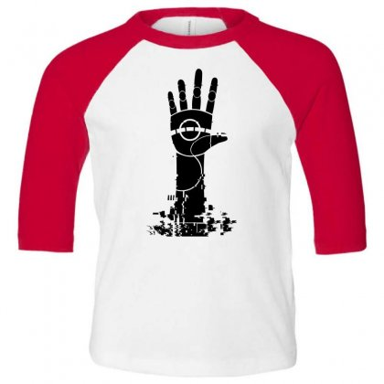 The Unperson Hand Toddler 3/4 Sleeve Tee Designed By Specstore