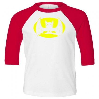 Bat Moon Toddler 3/4 Sleeve Tee Designed By Specstore