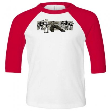 Graffiti Man Toddler 3/4 Sleeve Tee Designed By Specstore