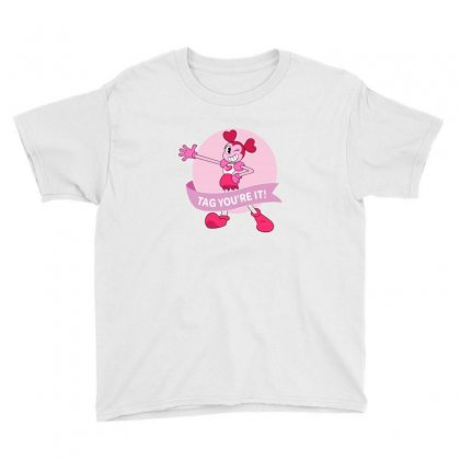 Spinel Steven Tag You're It Youth Tee Designed By Neset