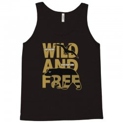 wild and free Tank Top | Artistshot