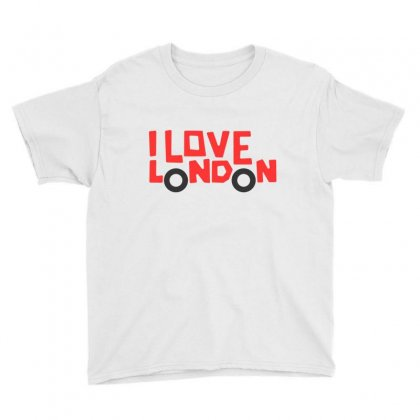 I Love London Youth Tee Designed By Disgus_thing