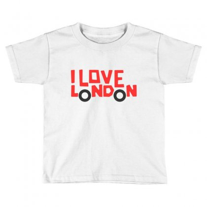 I Love London Toddler T-shirt Designed By Disgus_thing