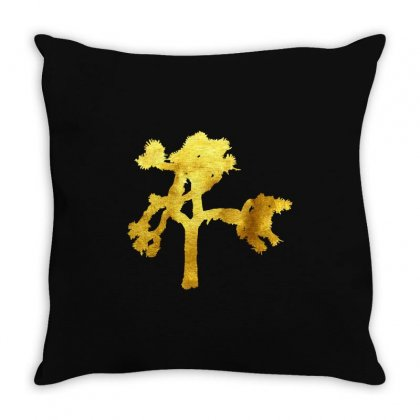 Joshua Tree Throw Pillow Designed By Cuser1898