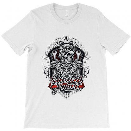 Raider Nation 1 T-shirt Designed By Tiococacola