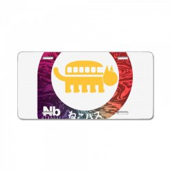 neko bus stop License Plate | Artistshot
