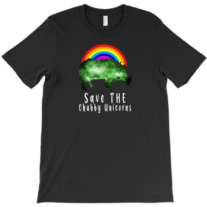 Save The Chubby Unicorns For Dark T-shirt Designed By Gurkan