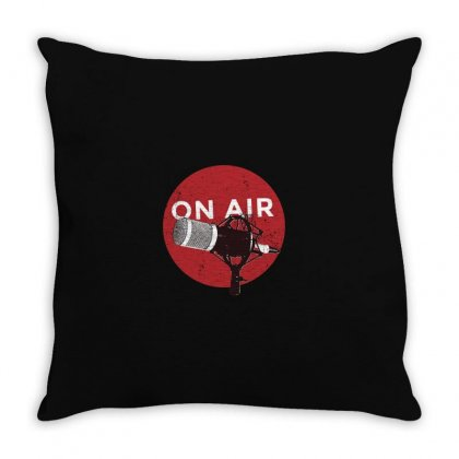 On Air Throw Pillow Designed By Disgus_thing