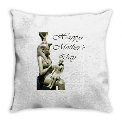 Egyptian Mother's Day Throw Pillow Designed By Hoska