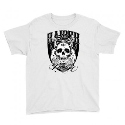Raider Nation 2 Youth Tee Designed By Tiococacola