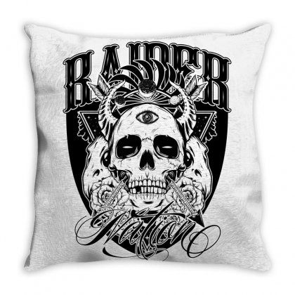 Raider Nation 2 Throw Pillow Designed By Tiococacola