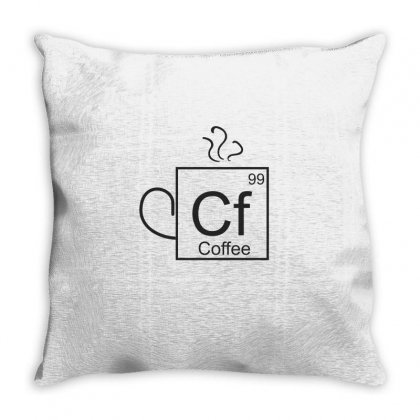Coffee Throw Pillow Designed By Chris Ceconello