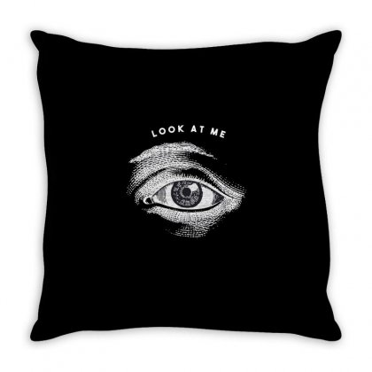 Eyes Throw Pillow Designed By Disgus_thing