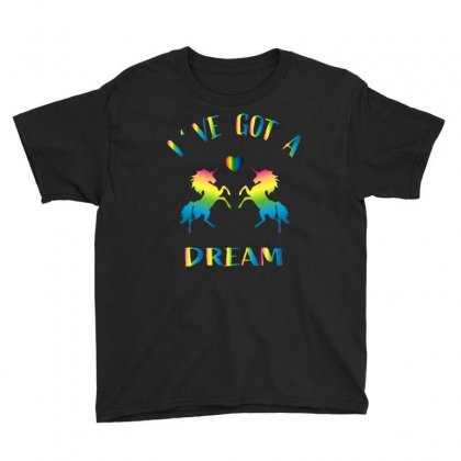 Ive Got A Dream Youth Tee Designed By Omer Acar