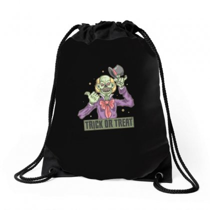 Trick Or Treat Drawstring Bags Designed By Disgus_thing