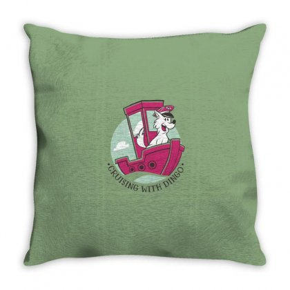Cruising With Dingo Throw Pillow Designed By Disgus_thing