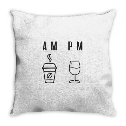 Coffee And Wine Throw Pillow Designed By Chris Ceconello