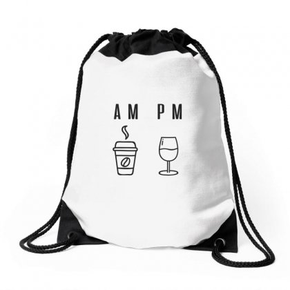 Coffee And Wine Drawstring Bags Designed By Chris Ceconello