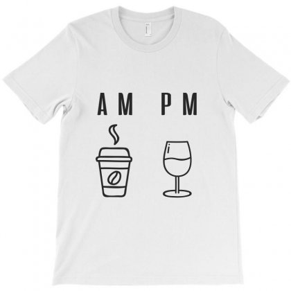Coffee And Wine T-shirt Designed By Chris Ceconello