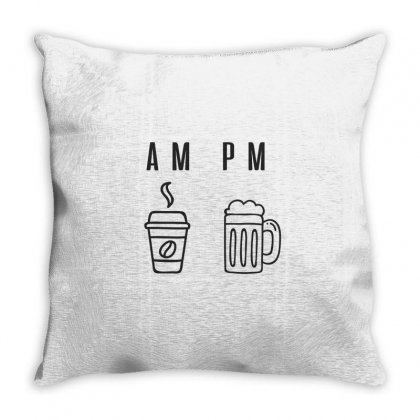Coffee And Beer Throw Pillow Designed By Chris Ceconello