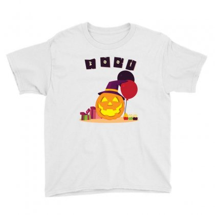 Pumpkin Party Youth Tee Designed By Emardesign