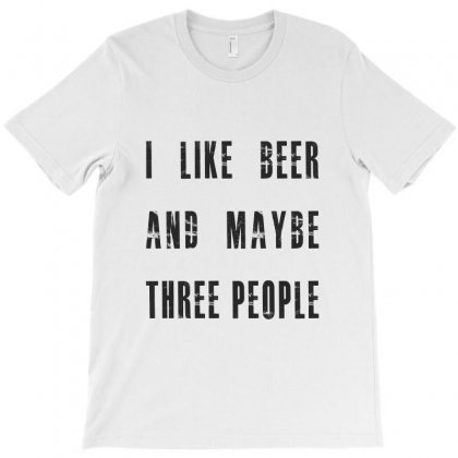 I Like Beer T-shirt Designed By Chris Ceconello