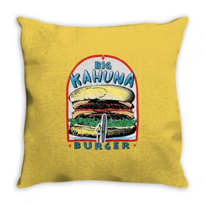 Big Kahuna Burger Throw Pillow Designed By Arum